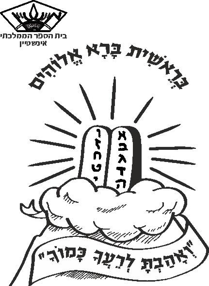 עטיפות לחומש בראשית בית ספר אינשטיין-חיפה